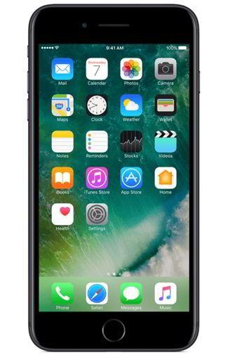 Apple iPhone 7 Plus 128GB Zwart Aanbiedingen & Abonnementen