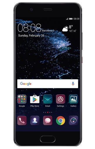 Huawei P10 Plus Zwart Aanbiedingen & Abonnementen