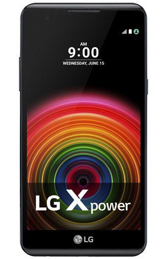 LG X Power Zwart Aanbiedingen & Abonnementen