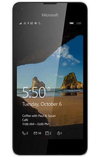 Microsoft Lumia 550 Wit Aanbiedingen & Abonnementen