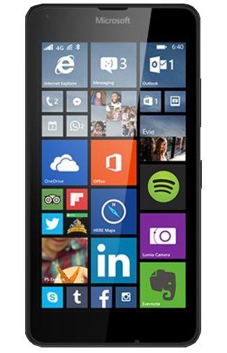 Microsoft Lumia 640 XL 4G Dual Sim Zwart Aanbiedingen & Abonnementen