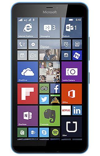 Microsoft Lumia 640 XL 4G Blauw Aanbiedingen & Abonnementen