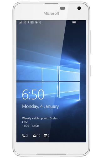 Microsoft Lumia 650 Dual Sim Wit Aanbiedingen & Abonnementen