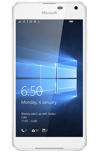 Microsoft Lumia 650 Wit Aanbiedingen & Abonnementen